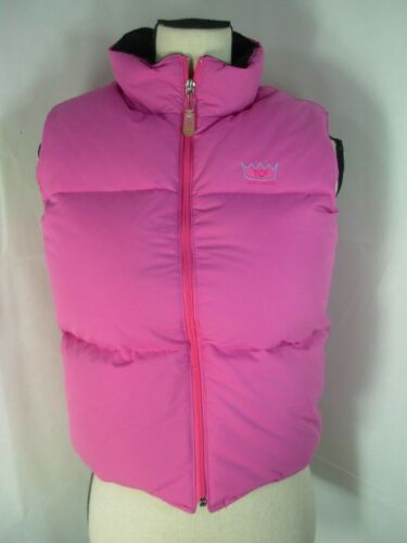 Todd Oldham Pink Down Puffy Vest women's size: M