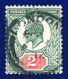1911-SG290-2d-Deep-Dull-Green-amp-Red-M13-1-Good-Used-London-CV-FU-22-amqg