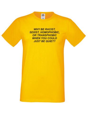 Pourquoi être raciste quand tu peux être tranquille Shirt Tumblr tenue Frank Ocean Tee