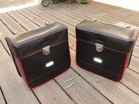 Sacoches Made In France,vintage,simili Noir,rouge,vélo,solex,mobylette,peugeot…