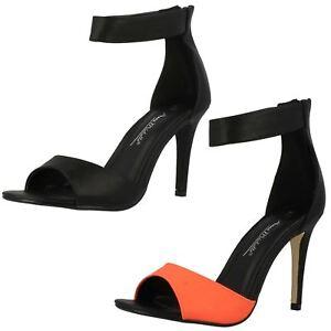 Sandales Orange Mode Ladies La À Michelle Anne Haut Talon ABxIPq8
