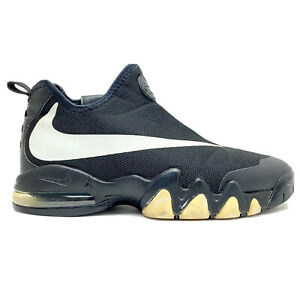 antártico Influencia motor  Nike Big Swoosh Air Max Mens Sz 8.5 Basketball Shoes Black White 832759-001  RARE | eBay