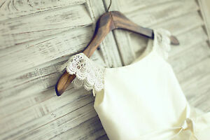 Lace Tulle Trimmed Baby Girl Princess Flower Girl Dress Kids Bridesmaids Dress