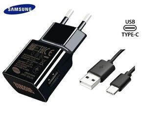 Original-Samsung-Rapido-Cargador-Adapter-USB-C-Cable-Para-Galaxy-S10-S9-S8-Plus