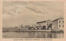A1172) ERITREA, LE SALINE ERITREE A MASSAUA GHERAR.