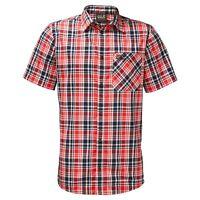 Jack Wolfskin Men's Saint Elmos Shirt - Fiery Red Checks