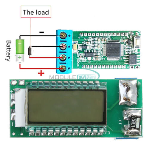 18650 Li-ion Lithium Battery Tester Capacity Voltage Current Detector LCD Meter