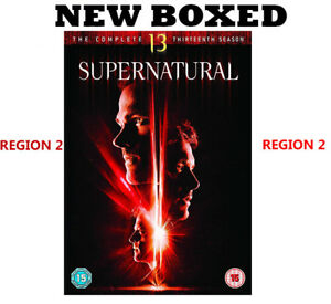Supernatural-Season-13-DVD-2018-New-Region-2-Same-Day-Dispatch-Fast-Delivery