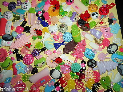 BULK KAWAII FLATBACKS - 20 PIECES (MINIMUM) - JUST GORGEOUS!