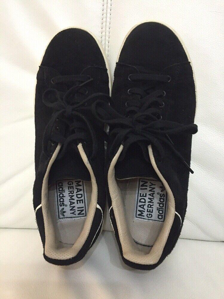 Adidas Hirsch Sportschuhe Schuhe Schwarz Gr. 40 2 3 Rar  Stand Made In Germany eine Vielzahl von Waren