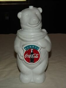 VINTAGE-ALWAYS-COCA-COLA-9-1-2-034-HIGH-PLASTIC-BEAR-DRINKING-STRAW-CUP