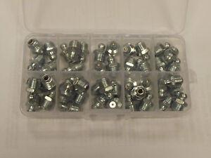 1/8 Npt Graisseurs, 40 X 1/8 Npt Américain Droit Tétons En A Compact Boîte ModéLisation Durable