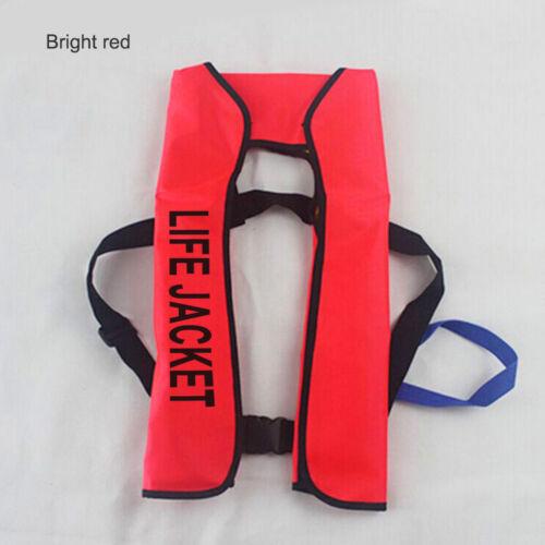 Erwachsene automatische manuelle aufblasbare Schwimmweste 150N Überlebensweste