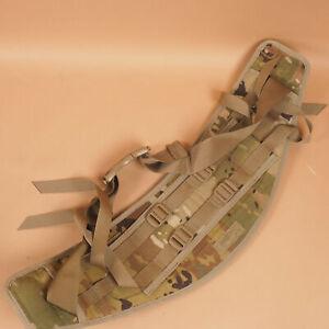 Military MOLLE II Backpack Rucksack Molded Kidney Belt Waistbelt Scorpion Camo
