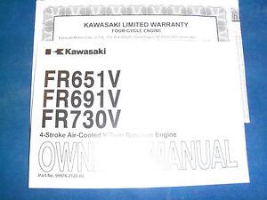 new kawasaki owners manual fits fr651v fr691v fr730v oem free rh ebay co uk Kawasaki FR651V Parts fr691v repair manual