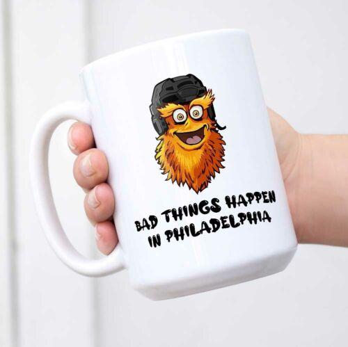 Bad Things Happen In Philadelphia Funny Coffee Mug