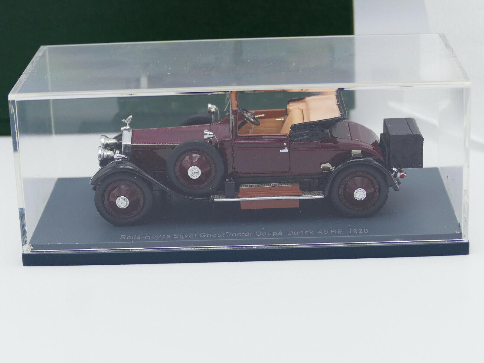 Neo Rolls Royce argento ggost médico Coupe Dansk 1920-Nuevo