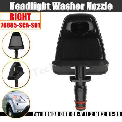 FITS For HONDA CRV CR-V II 2 MK2 01-05 HEADLIGHT WASHER NOZZLE SPRAYER LEFT NEW