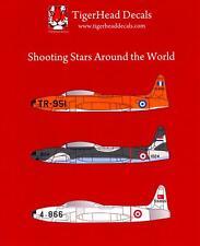 Tigerhead Decals 1/72 LOCKHEED T-33 SHOOTING STAR Around the World