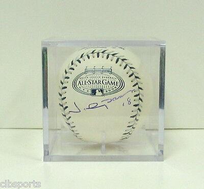 Sports Mem, Cards & Fan Shop Johnny Damon Signed 2008 All Star Baseball 08as Oml Yankees Mlb Auto Shrink-Proof