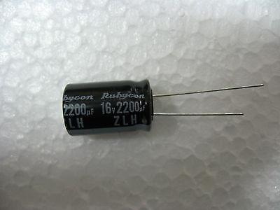condo condensateur chimique 680µF 680MF 680UF 35V rubycon 105°C Lot de 10