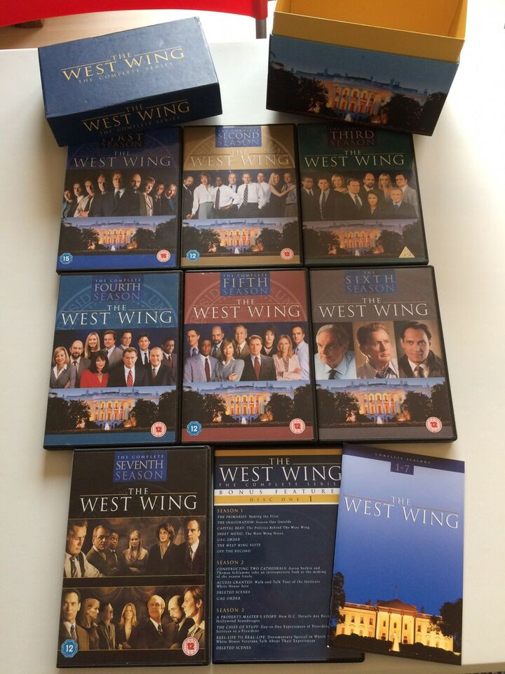 The West Wing - Complete Series, DVD, drama
