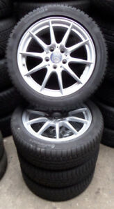 4-Mercedes-Benz-Winterraeder-B-Klasse-W246-A-W176-CLA-C117-205-50-R17-93H-M-S-RDK