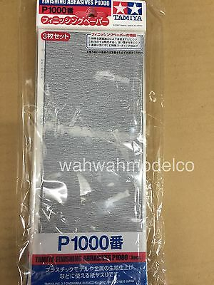 Tamiya 87057 Finishing Abrasives P1000 3