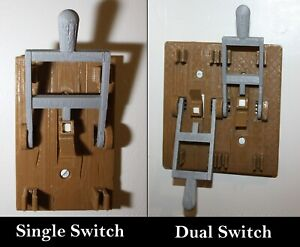 Brown-Frankenstein-Single-Light-Switch-Cover-Flip-Handle-Decor-Mad-Scientist