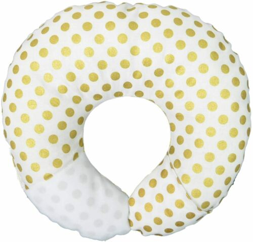 Babymoon Pod Pillow For Flat Head Syndrome /& Neck Support Baby Infant Gold Dots