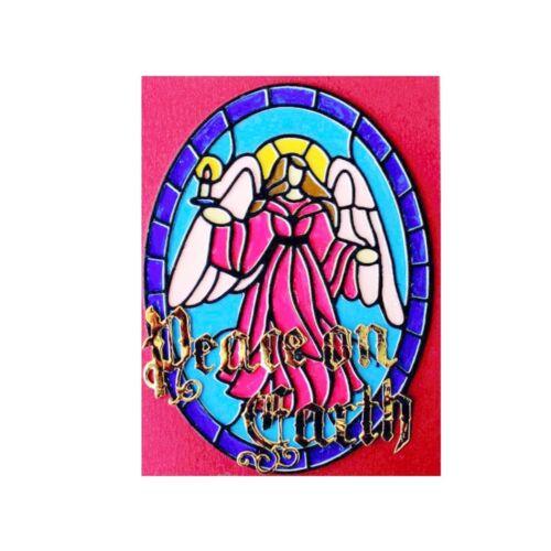 Christmas Angel Stained Glass Metal Die Cut Frantic Stamper Cutting Dies