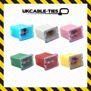J-Case-Fuses-All-Amps-Low-Profile-Female-Push-In-Cartridge-Fuse-Car-Auto