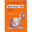 Dodo Acad-pad 2016 - 2017 Filofax-compatible A5 Organiser Diary R Stationery