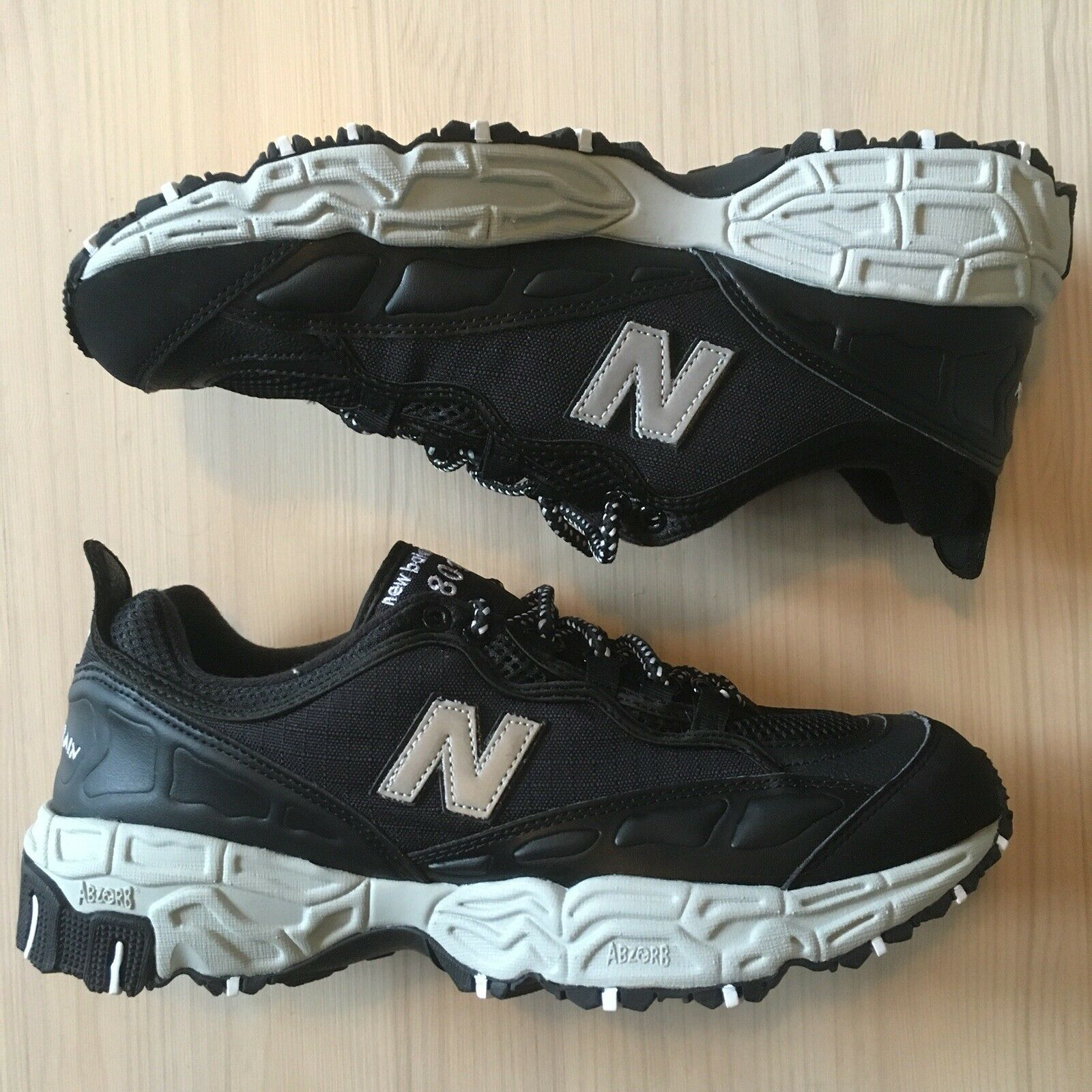 New Balance 801 All Terrain Hiking Shoe Mens Size 11 Black/grey Brand New