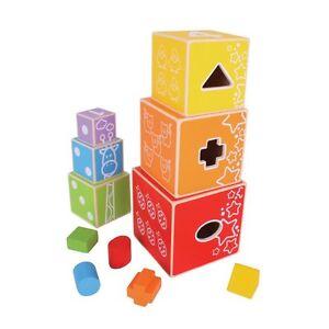 Spielzeug Selbstlos Bigjigs Toys Stapelwürfel Neu & Ovp Auf Der Ganzen Welt Verteilt Werden Spielzeug