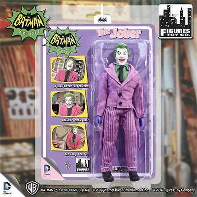 Batman 1966 TV series 1; Riddler; 8 in environ 20.32 cm action figure neuf Comme neuf sur scellé Carte FTC