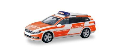 Herpa coches vw passat Varant bomberos francfort//main 094955