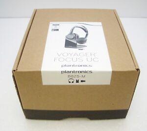 Plantronics Voyager Focus Uc B825 M Stereo Bluetooth Headset Retail Packaging Ebay
