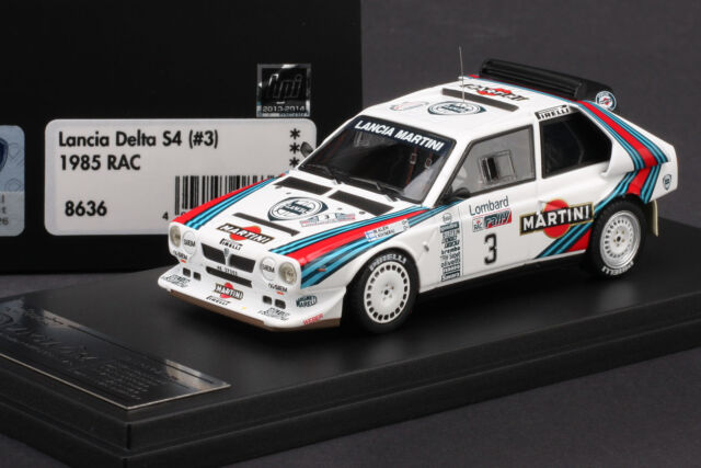 lancia delta s4 martini #3 1985 rac rally hpi #8636 1/43 for sale