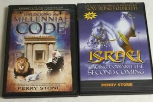 PERRY-STONE-DVD-UNLOCKING-THE-MILENNIAL-CODE-amp-Israel-Racing-Toward-2nd-Coming