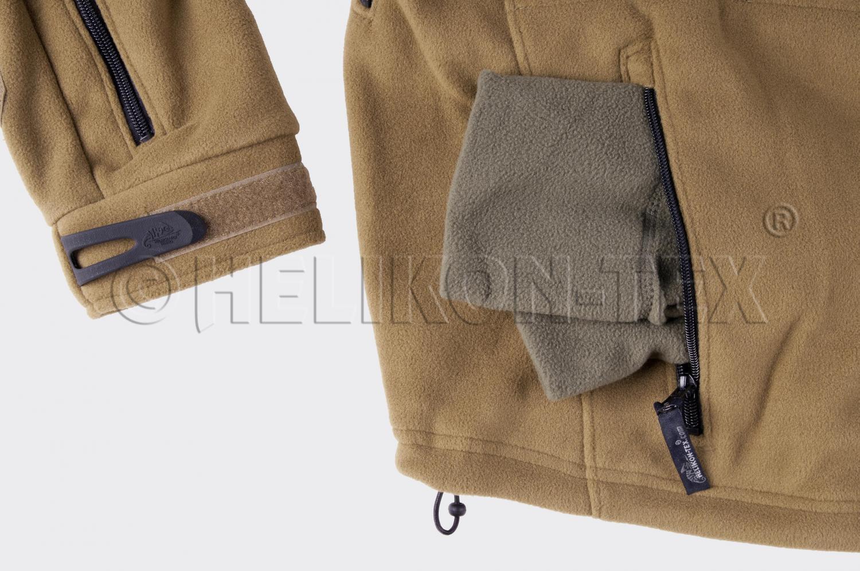 HELIKON tex patriota heavy Fleece capucha chaqueta coyote tan tan tan M Medium 67909a
