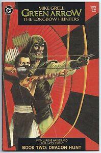 GREEN-ARROW-THE-LONGBOW-HUNTERS-2-DC-Comics-Sept-1987-NM-MT-9-8-Mike-GRELL-Art