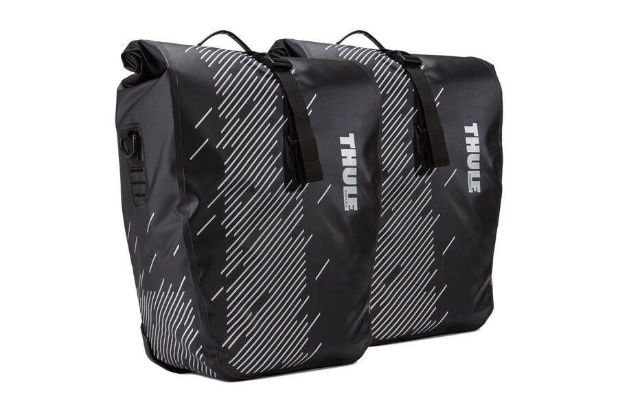 Thule Shield gros Bagage Sacs 24 L (paire) - noir
