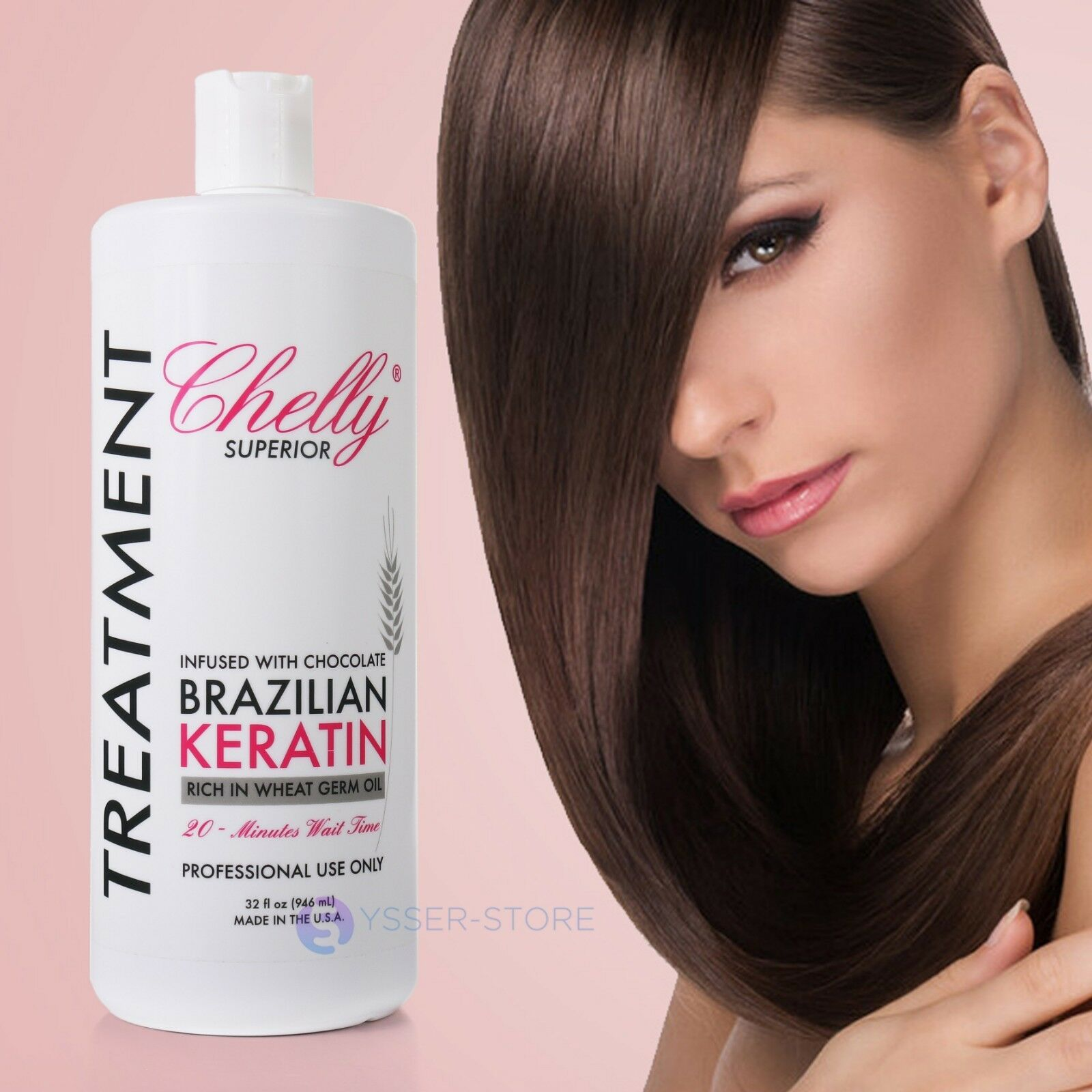Chelly Brazilian Keratin Hair Treatment Professional Complex Blowout Made In Usa Ebay