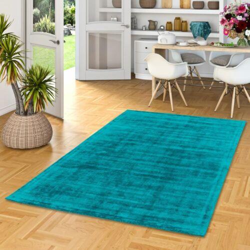 Luxus Designer Teppich Roma Türkis