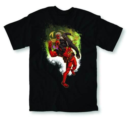 Deadpool Salted Earth Mens Black T-Shirt