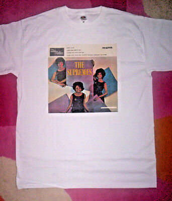 60/'s pop SUPREMES T-SHIRT Tamla Motown Diana Ross.