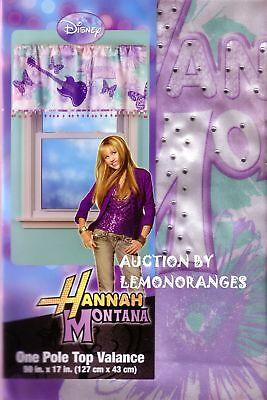 Goedkope Verkoop New Hannah Montana Signature Satin Window Valance Aantrekkelijk Uiterlijk