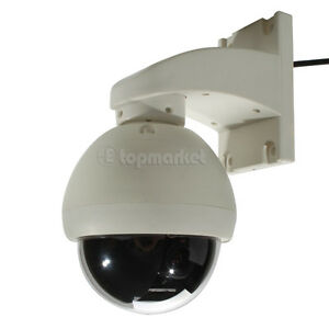 1-3-Sony-CCD-420TVL-Constant-Speed-PTZ-Plastic-Dome-Security-CCTV-Camera-8mm
