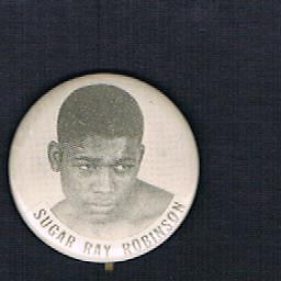 RARE-1950-039-s-World-Champion-Sugar-Ray-Robinson-boxing-pinback-button-boxer